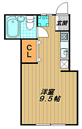 妙法寺ハイツ[2階]の間取り