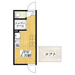レガロアパートメント北赤羽[2階]の間取り