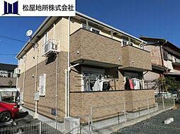 愛知県豊橋市上野町字上原の賃貸アパートの外観