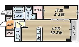ピュアシンフォニー[1階]の間取り