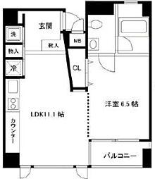 キャピタルステージ日本橋[10階]の間取り