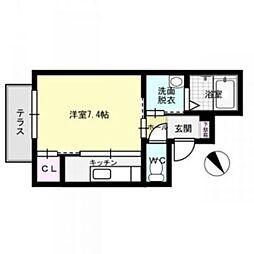 ON KASUGA[1階]の間取り