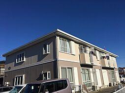 千葉県船橋市田喜野井1丁目の賃貸アパートの外観