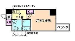 HS梅田EAST[9階]の間取り