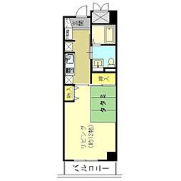 エル・セレーノ府中2階Fの間取り画像