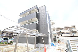大阪府堺市北区北花田町2丁の賃貸アパートの外観