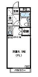 神奈川県厚木市松枝2丁目の賃貸マンションの間取り