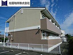 愛知県豊橋市東脇3丁目の賃貸アパートの外観