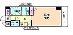 ドゥーエ立売堀[7階]の間取り