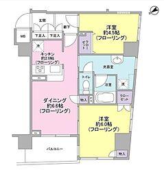 パートナーシップアパートメント[7階]の間取り