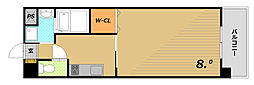 THREE DEER[2階]の間取り