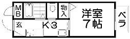 TANAKAハイツ[1階]の間取り