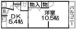 第二田村マンション[3階]の間取り