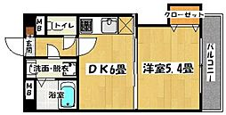 J−PORT[403号室]の間取り