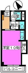 松田ハイツ[303号室]の間取り