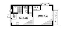 カーサ荻窪[2階]の間取り