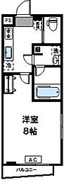 GIRASOLE武蔵新城[4階]の間取り