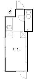 apartment KURO 代々木III[4階]の間取り