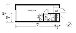 セイコーガーデンI[2階]の間取り