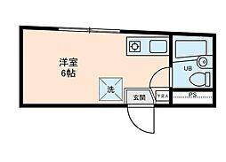 メゾン鶴ヶ島駅前[3階]の間取り