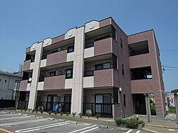 愛知県岡崎市宮地町字郷東の賃貸マンションの外観