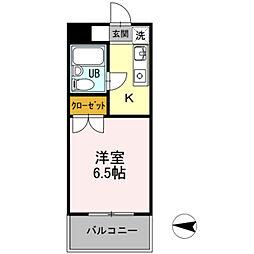 メゾン・ド・ドリーム横浜[8号室]の間取り