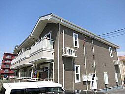 愛知県岡崎市宇頭町字向山の賃貸アパートの外観