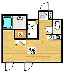 ベルトピア市川第2[3階]の間取り