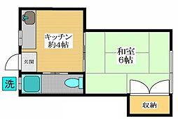 カトレアハウス[2階]の間取り