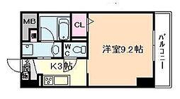 カルムクレール2.5.8[8階]の間取り
