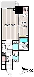 パークキューブ神田[4階]の間取り
