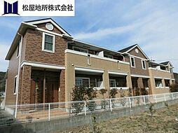 愛知県田原市大久保町河原の賃貸アパートの外観
