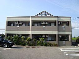 愛知県豊田市渡刈町4丁目の賃貸アパートの外観