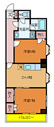 高野山第一ビル[9階]の間取り