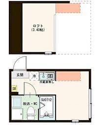 妙蓮寺駅 5.3万円