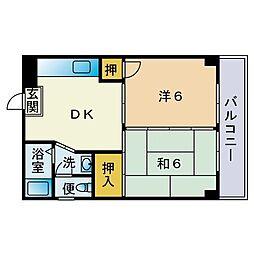 ドリームI[3階]の間取り