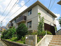 兵庫県川西市萩原台東1丁目の賃貸アパートの外観