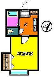 プリムラ[1階]の間取り