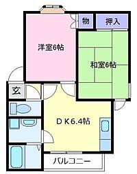 クライムハウス[4階]の間取り