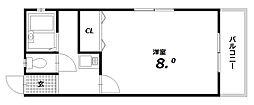 高岡ハイツ[2階]の間取り
