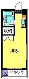 メゾン桜ヶ丘F棟[106号室]の間取り