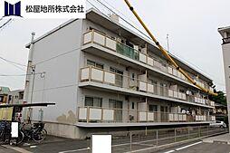 愛知県豊橋市森岡町の賃貸マンションの外観