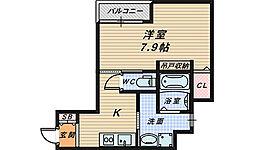 エヌエムトラントアン[4階]の間取り