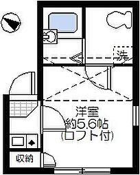 ソレイユ押上[301号室]の間取り