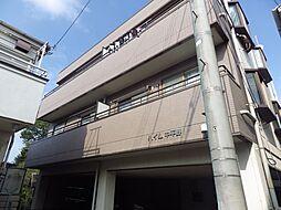 埼玉県狭山市入間川の賃貸マンションの外観
