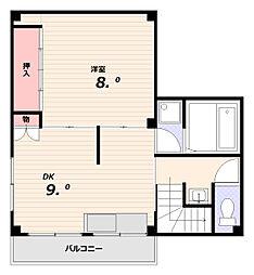大田マンション[2階]の間取り
