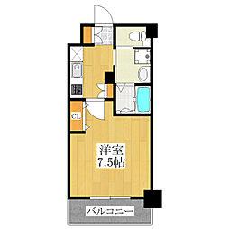 PARK SQUARE板橋[5階]の間取り