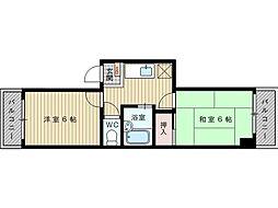 メゾン吹田泉町[2階]の間取り