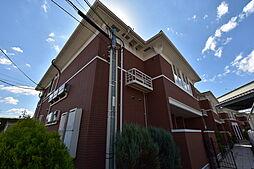 大阪府堺市美原区黒山の賃貸アパートの外観