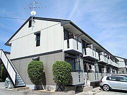 大阪府箕面市箕面4丁目の賃貸アパートの外観